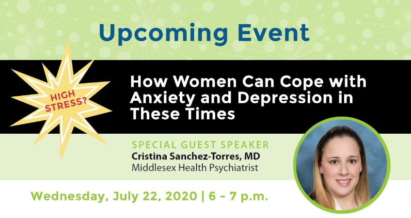 How to Cope with Stress in This Time Women's Wellness Fund Event