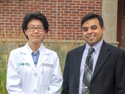 Drs. Chia-Chi Wang and Nadeem Hussain