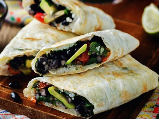 Mayo Clinic News Network Black Bean Quesadillas
