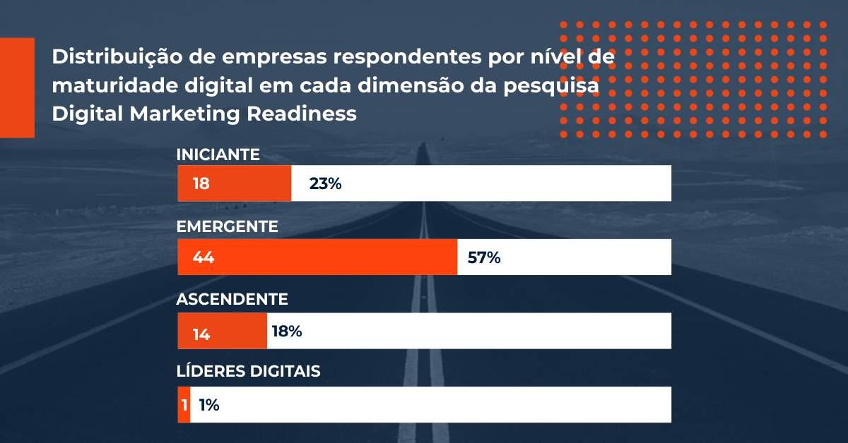 Nível de Maturidade do Marketing Digital nas Empresas