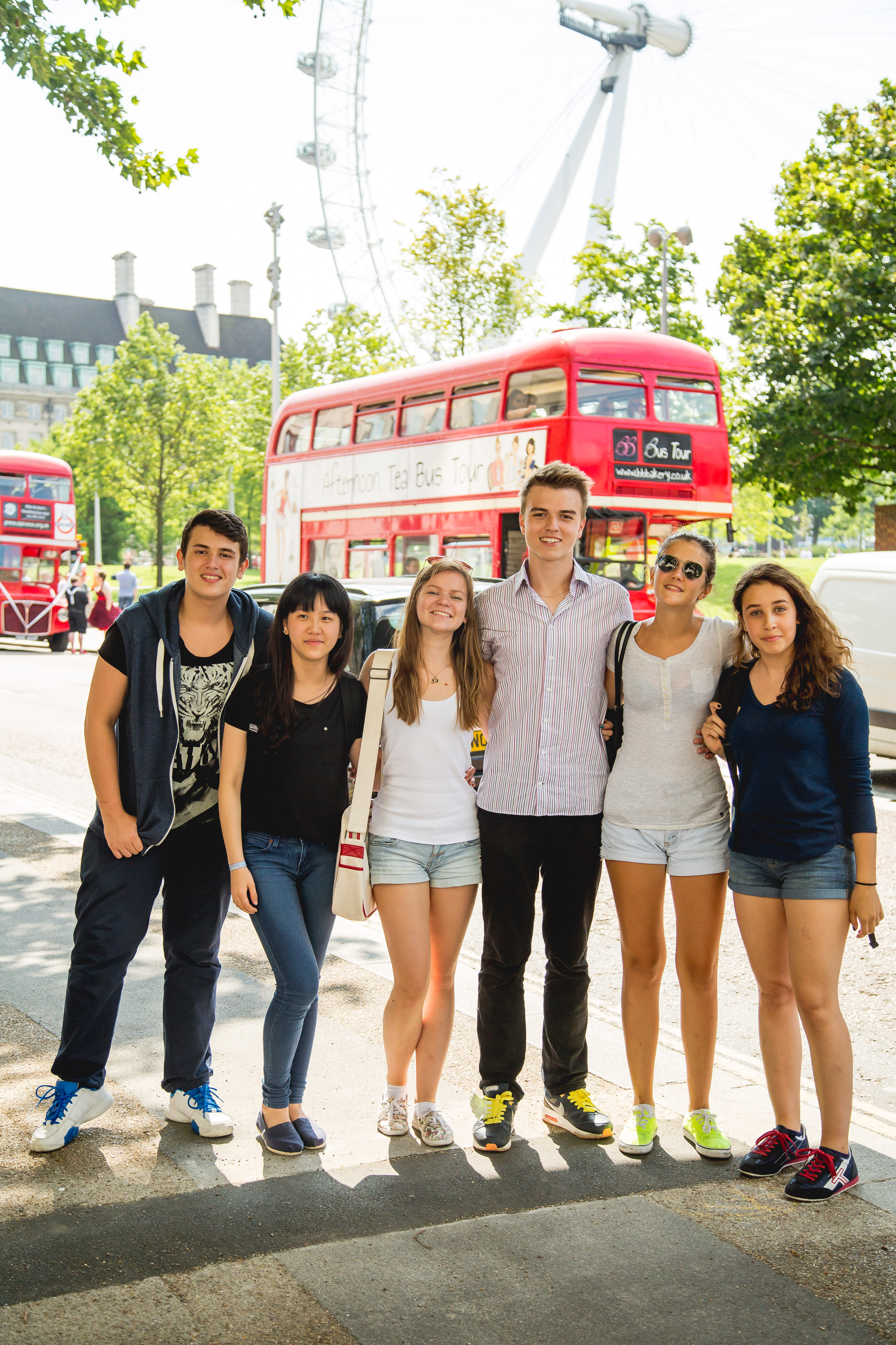 The Birthplace of English: Family Course in London, England