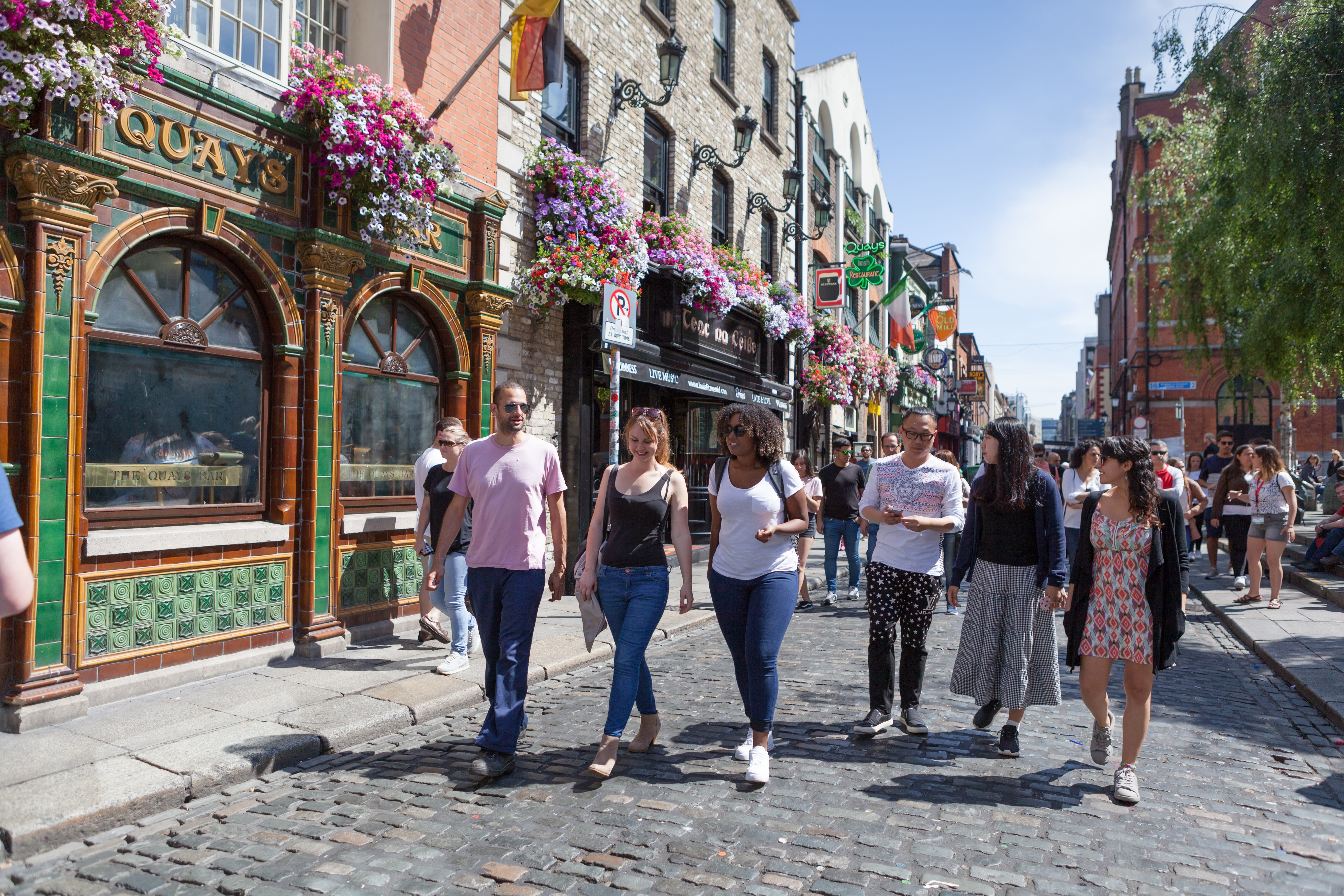 Capital Immersion: Family Course in Dublin, Ireland