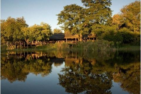 Die wunderschöne Landschaft der Kwando Core Area