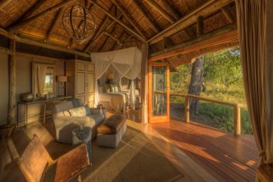 Camp Moremi Guest Room Interior