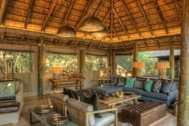 Camp Moremi Lounge