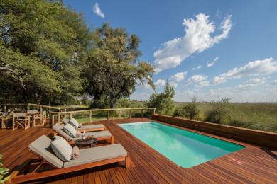 Camp Moremi guest pool