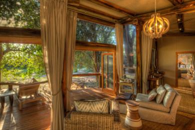 Interior of the Luxury suite