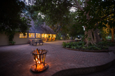 Island Safari Lodge - Main Area - Evening