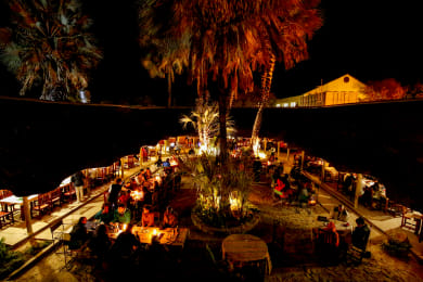 Dinning under the star Boma Restaurant