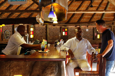 Enjoy drinks at our Boma Bar
