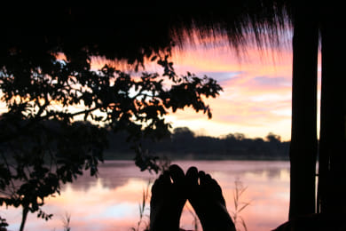 Sunrise between your toes