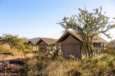 Ndhula Luxury Tented Lodge