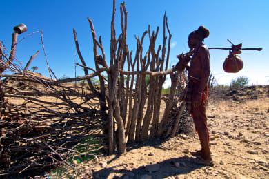 Himba Kraal