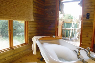 Bath in Nata Lodge chalets