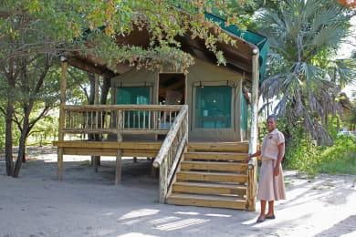 Luxury Safari tents Nata Lodge