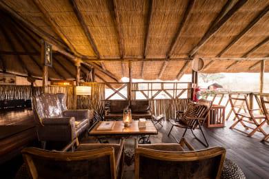 Lounge and Main Camp Area