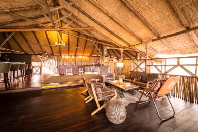 Camp Savuti Lounge Area