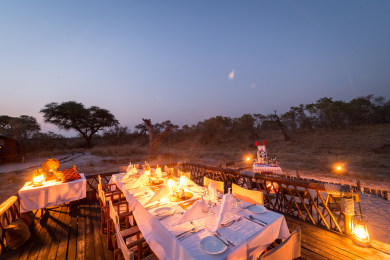 Dining Under the Stars with Lanterns