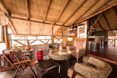 African Inspired Decor at Camp Savuti