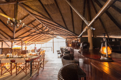 Camp Savuti Bar Area