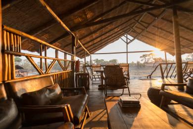 Camp Savuti Overlooking the Chobe