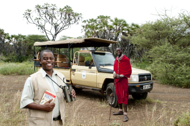 Game Drives at Tsavo West National Park
