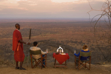 Sundowner at Poacher's Lookout