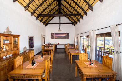 Dinning room in main area