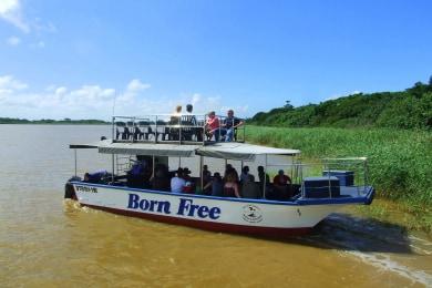 St Lucia Estuary Boat Cruise
