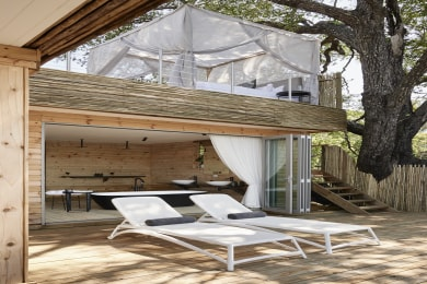Victoria Falls River Lodge - Starbed Treehouse