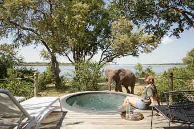 Victoria Falls River Lodge - Luxury Family Tent