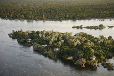 Victoria Falls River Lodge - Aerial