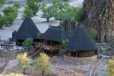 Khowarib Lodge Main Area
