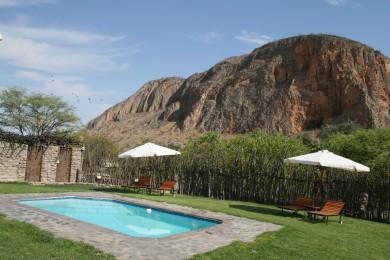 Khowarib Lodge Pool Area