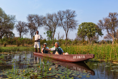 Mokoro Activity at Machaba Camp