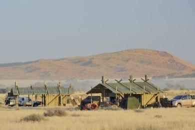Sossus Oasis Camp Site Views