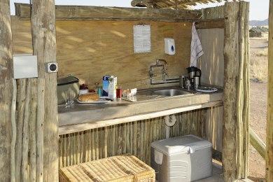 Sossus Oasis Camp Site Facilities - Kitchenette