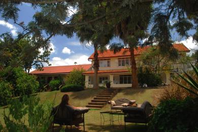 Garden - Karibu Entebbe