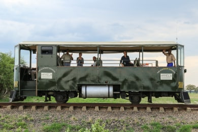 The Elephant Express Rail Car