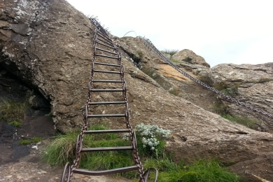 The Sentinel Peak Chain Ladders