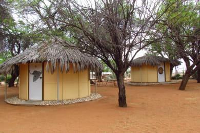 Rondavels ( Small huts)