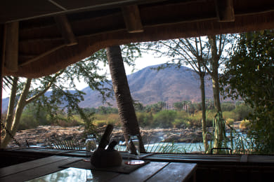 Epupa Falls Lodge Chalet View
