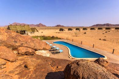 Desert Quiver Camp Pool Area