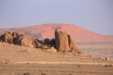 Views towards Elim Dune
