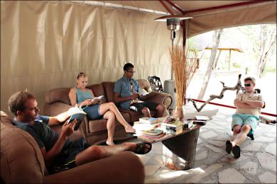 Fiume Bush Camp Lounge