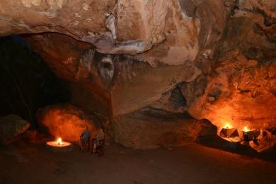 Cave braai area