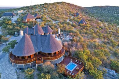 Etosha Mountain Lodge - Aerial View