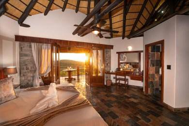 Etosha Mountain Lodge - Room at Sunrise