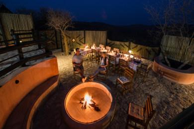 Etosha Mountain Lodge - Boma