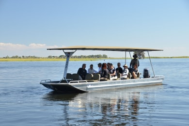 Boat trip on the Chobe River